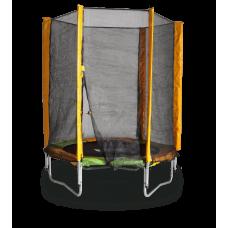 Батут с защитной сеткой Kidigo BT140