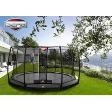 Батут с защитной сеткой  BERG InGround Favorit 330 + Safety Net Comfort Grey