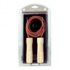 Скакалка Tunturi Leather Jump Rope Pro TUSFU038