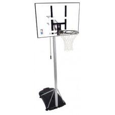 """Баскетбольная стойка Spalding Silver 44"""" Rectangle Acrylic 59484CN"""