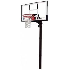 Баскетбольная стойка Spalding Acrylic in-ground 54`` 88365CN