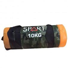 Аксессуары для спорта и фитнеса сэндбэг для функционального тренинга SPART Sand Bag 10 кг