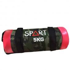 Товары для спорта сэндбэг для функционального тренинга SPART Sand Bag 5 кг